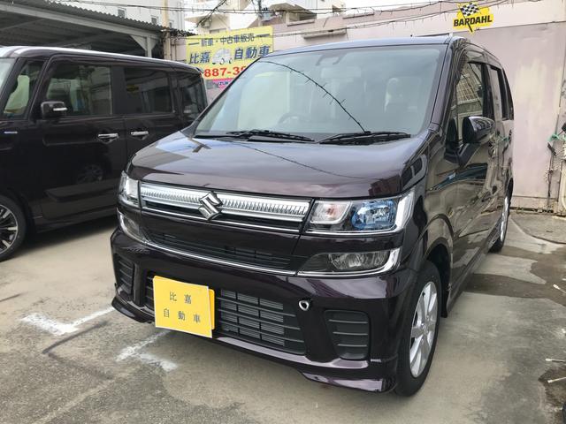 沖縄の中古車 スズキ ワゴンR 車両価格 128万円 リ済込 2020(令和2)年 0.1万km パープルM