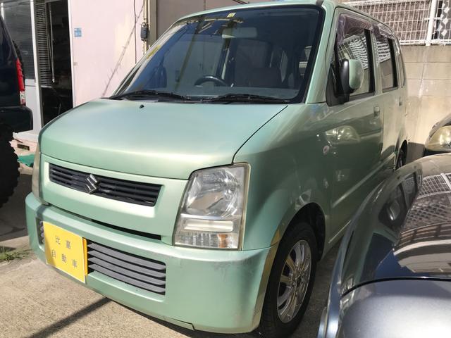 沖縄県中頭郡中城村の中古車ならワゴンR FX コラムAT 集中ドアロック サイドバイザー CD