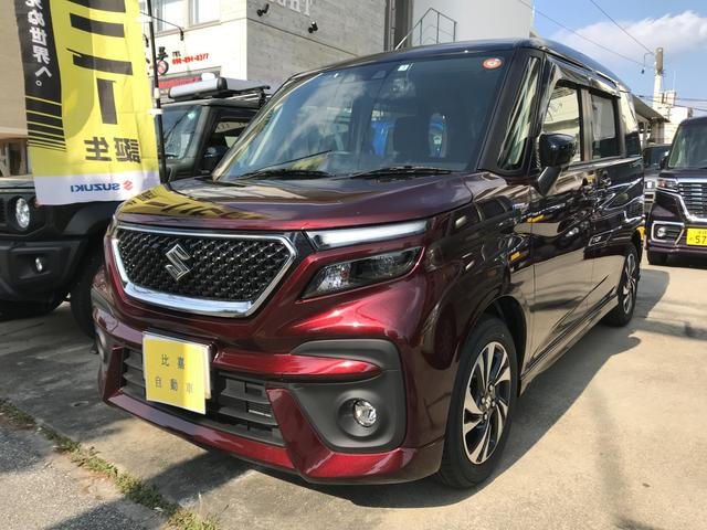 沖縄の中古車 スズキ ソリオバンディット 車両価格 215万円 リ済込 2021(令和3)年 5km ワインM
