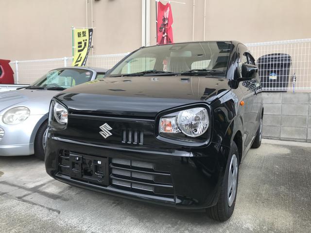 沖縄の中古車 スズキ アルト 車両価格 78万円 リ済込 2021(令和3)年 8km ブラックM