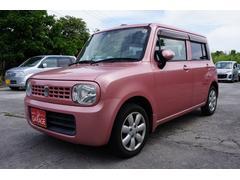 沖縄の中古車 スズキ アルトラパン 車両価格 44万円 リ済別 平成22年 7.2万K ピンク