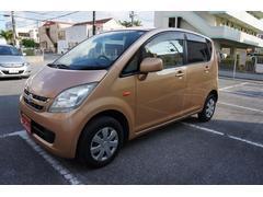 沖縄の中古車 ダイハツ ムーヴ 車両価格 24万円 リ済込 平成20年 10.9万K オレンジ