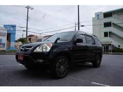 沖縄の中古車 ホンダ CR−V 車両価格 19万円 リ済込 平成15年 14.5万K ブラック