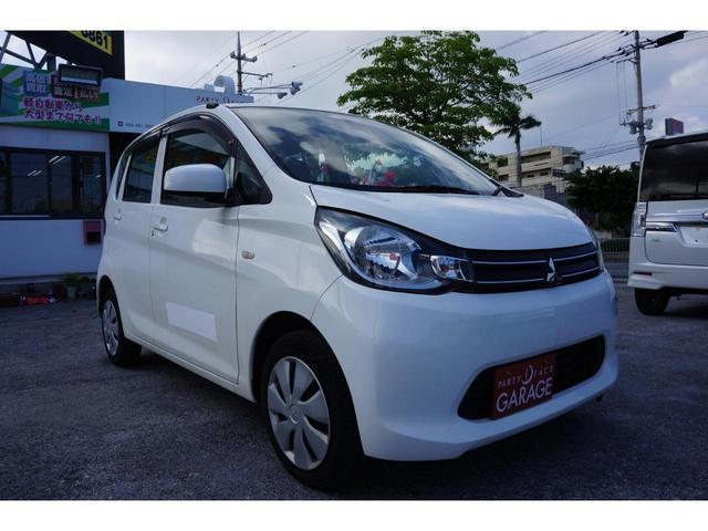 沖縄の中古車 三菱 eKワゴン 車両価格 59万円 リ済別 平成25年 6.1万km ホワイト