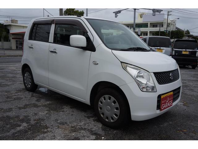 沖縄の中古車 スズキ ワゴンR 車両価格 24万円 リ済込 平成21年 9.9万km ホワイト
