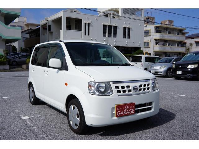 沖縄の中古車 日産 オッティ 車両価格 16万円 リ済込 平成23年 12.3万km ホワイト