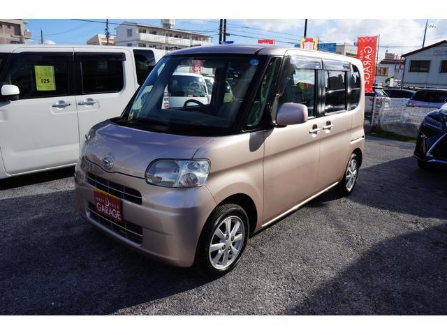 沖縄の中古車 ダイハツ タント 車両価格 44万円 リ済別 平成20年 4.6万km ピンク