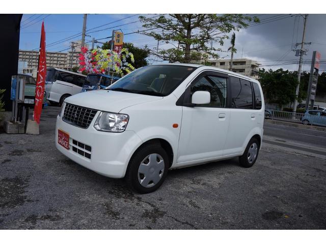 沖縄の中古車 三菱 eKワゴン 車両価格 22万円 リ済込 平成23年 12.2万km ホワイト