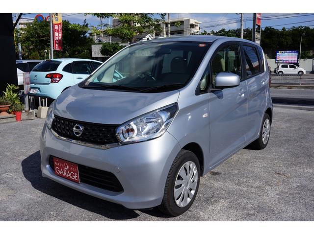 沖縄の中古車 日産 デイズ 車両価格 59万円 リ済別 平成26年 5.9万km シルバー