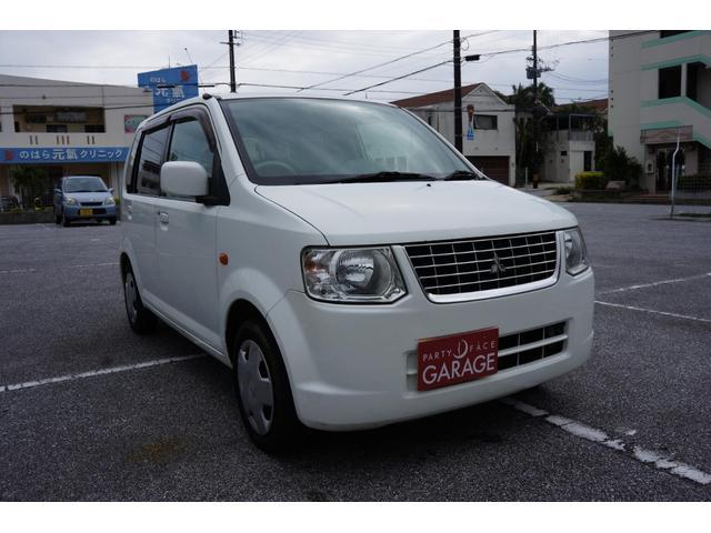 沖縄の中古車 三菱 eKワゴン 車両価格 14万円 リ済込 平成21年 14.7万km ホワイト