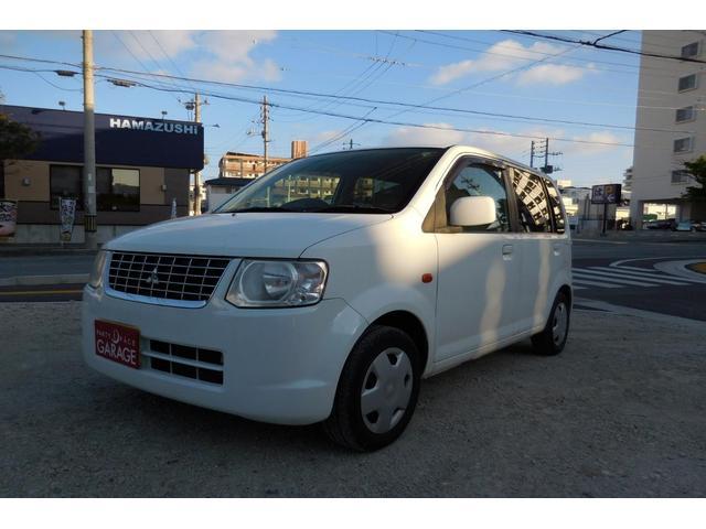 沖縄の中古車 三菱 eKワゴン 車両価格 18万円 リ済込 平成22年 12.5万km ホワイト