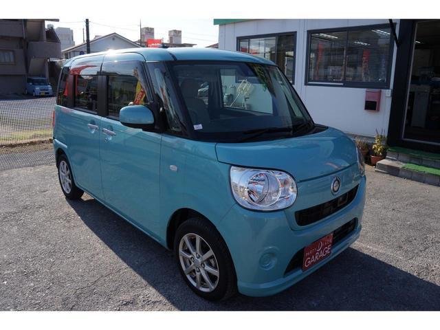 沖縄県の中古車ならムーヴキャンバス Xリミテッド SAII 走行0.7万キロ台 保証2年付き