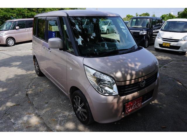 沖縄の中古車 日産 ルークス 車両価格 39万円 リ済別 2012(平成24)年 10.8万km ピンク