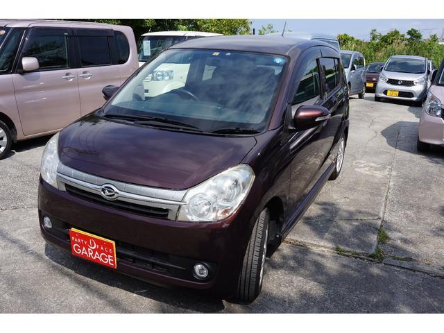 沖縄の中古車 ダイハツ ミラカスタム 車両価格 35万円 リ済別 平成22年 10.0万km ブラウン