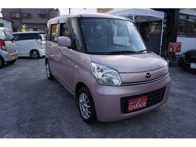 沖縄県中頭郡中城村の中古車ならフレアワゴン XG 社外ナビ アイドリングストップ機能付き