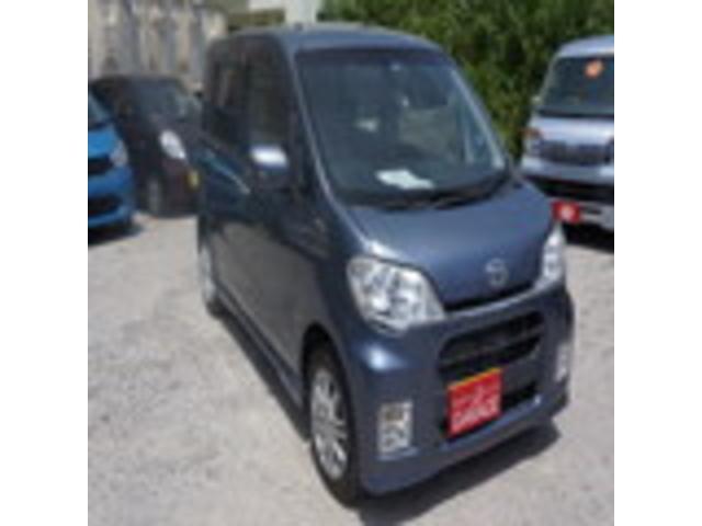 沖縄の中古車 ダイハツ タントエグゼ 車両価格 49万円 リ済別 2010(平成22)年 8.3万km ガンM