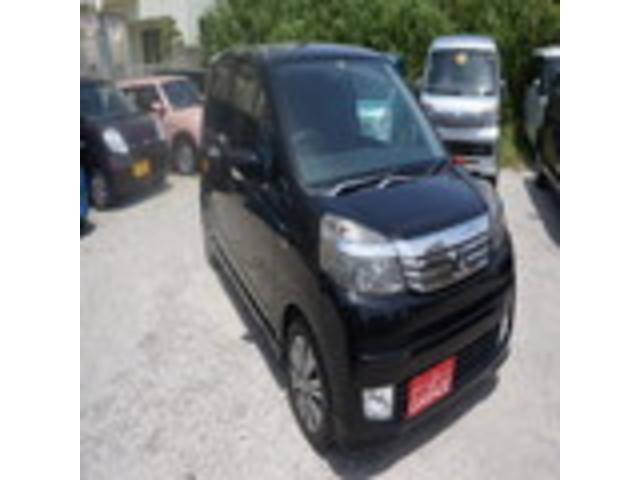 沖縄の中古車 ホンダ ライフ 車両価格 49万円 リ済別 2012(平成24)年 4.0万km ブラックM