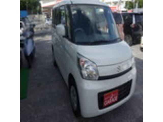 沖縄県の中古車ならスペーシア G 走行3万キロ台!内装キレイ