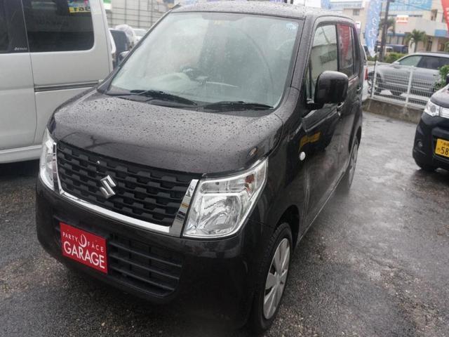 沖縄県那覇市の中古車ならワゴンR エネチャージ ETC キーレス Bluetoothナビ