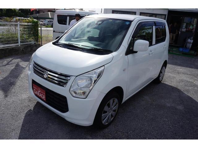 沖縄の中古車 スズキ ワゴンR 車両価格 39万円 リ済別 2014(平成26)年 10.2万km ホワイト