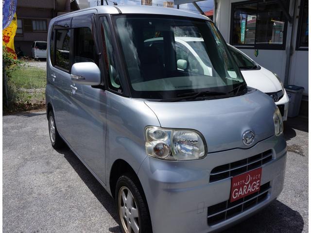 沖縄の中古車 ダイハツ タント 車両価格 35万円 リ済別 2010(平成22)年 8.6万km シルバー
