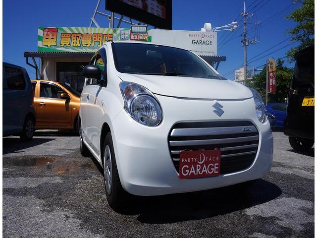 沖縄の中古車 スズキ アルトエコ 車両価格 39万円 リ済別 2014(平成26)年 0.9万km ホワイト