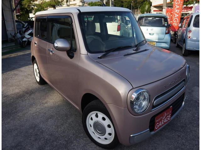 沖縄県の中古車ならアルトラパンショコラ X 社外ナビ スマートキー