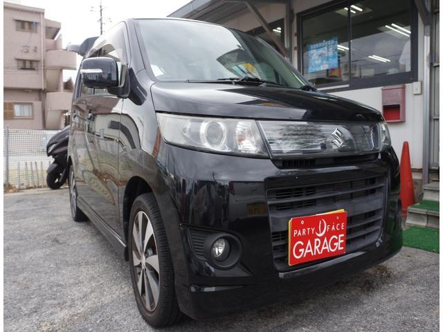 沖縄の中古車 スズキ ワゴンRスティングレー 車両価格 43万円 リ済別 2012(平成24)年 8.9万km ブラック