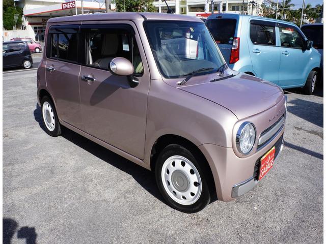 沖縄県中頭郡中城村の中古車ならアルトラパンショコラ X スマートフォン連携ナビ装着車