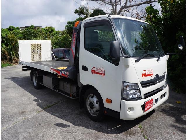 沖縄県の中古車ならデュトロ 2.5tラジコン ウィンチ 車両積載車