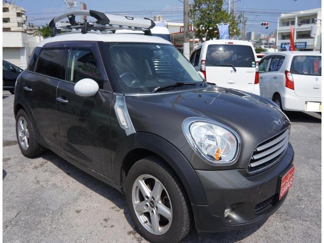 沖縄県の中古車ならMINI クーパー クロスオーバー 本土仕入れ キャリアルーフ