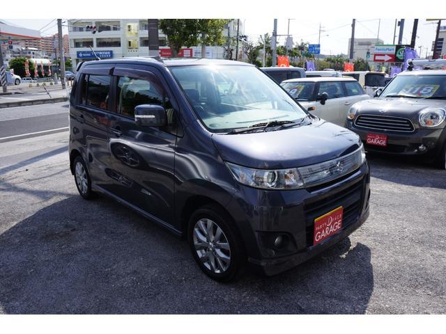 沖縄県の中古車ならワゴンRスティングレー リミテッド 社外ナビ ドラレコ