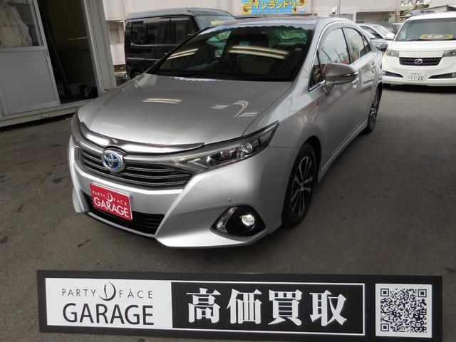 トヨタ SAI S Cパッケージ TVナビ Bluetooth対応 スマートキー 純正アルミホイール ステアリングスイッチ