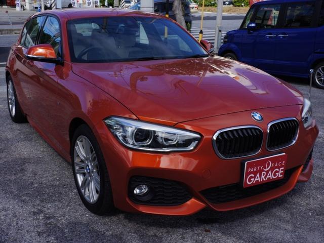 BMW 1シリーズ 118i Mスポーツ レザーパッケージ 純正ナビ アルミ