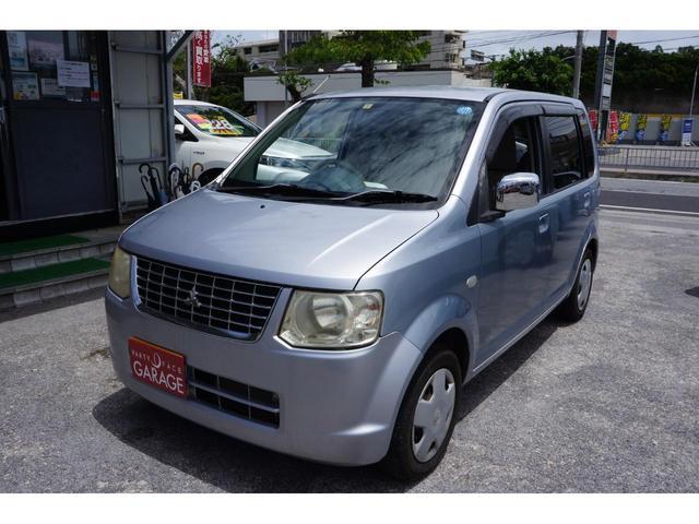 沖縄の中古車 三菱 eKワゴン 車両価格 19万円 リ済別 2012(平成24)年 11.1万km シルバー