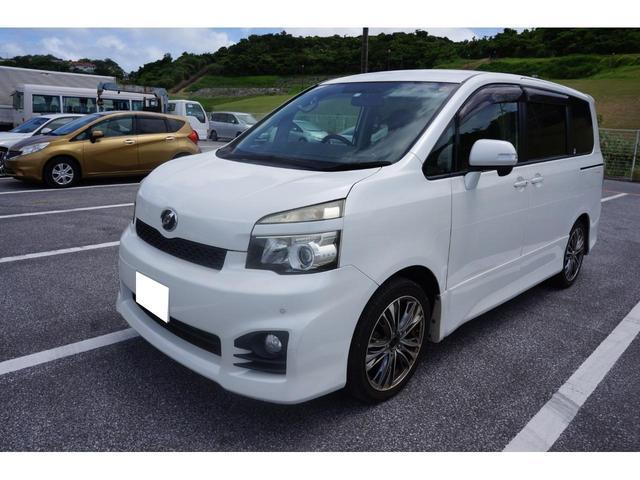 沖縄県の中古車ならヴォクシー ZS 社外ナビ Bluetooth対応 後席モニター