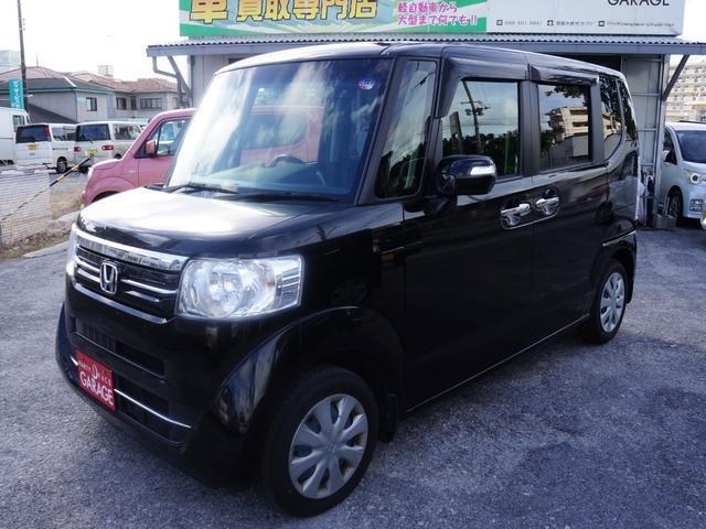 沖縄県の中古車ならN-BOX G・Lパッケージ スライドドア ナビ