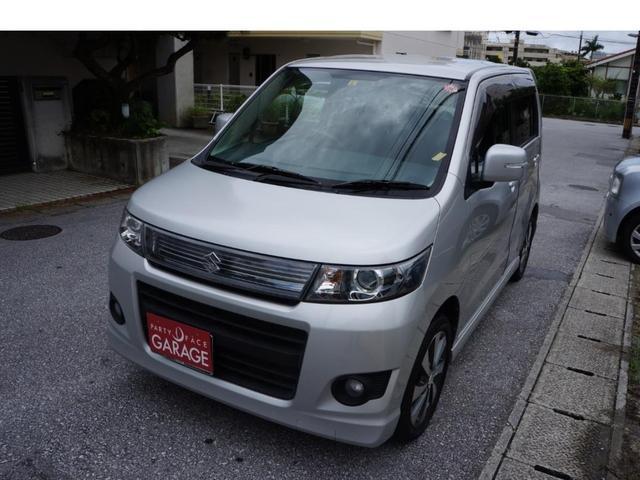 沖縄県の中古車ならワゴンRスティングレー リミテッドII バックカメラ シートヒーター プッシュスタート