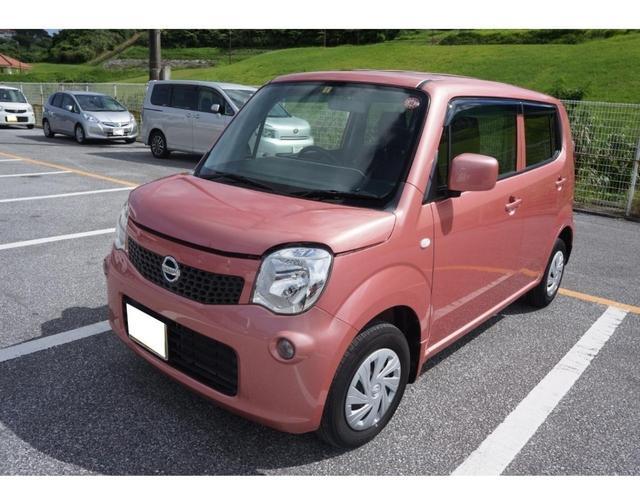 沖縄の中古車 日産 モコ 車両価格 39万円 リ済別 2014(平成26)年 9.5万km モコピーチPM