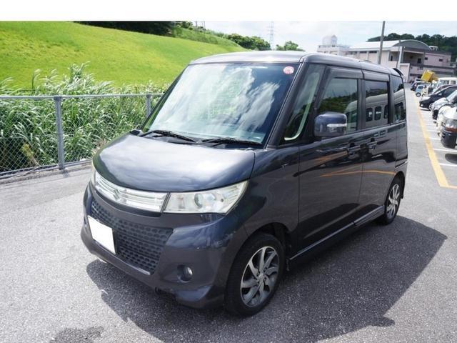 沖縄県の中古車ならパレットSW XS パワースライドドア Bluetooth対応ナビ プッシュスタート