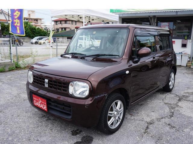 沖縄の中古車 スズキ アルトラパン 車両価格 39万円 リ済込 2013(平成25)年 10.1万km ブラウン