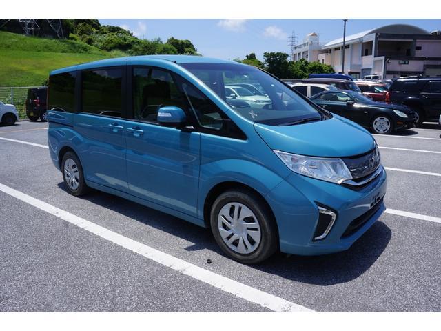 沖縄県那覇市の中古車ならステップワゴン G ホンダセンシング 両側パワースライド Bluetooth対応ナビ 衝突軽減サポート レーンアシスト ETC車載器