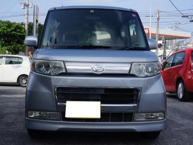 沖縄の中古車 ダイハツ タント 車両価格 23万円 リ済別 2008(平成20)年 13.0万km シルバー