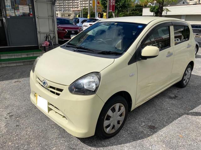 沖縄県の中古車ならミライース X ユーザー買取 純正オーディオ
