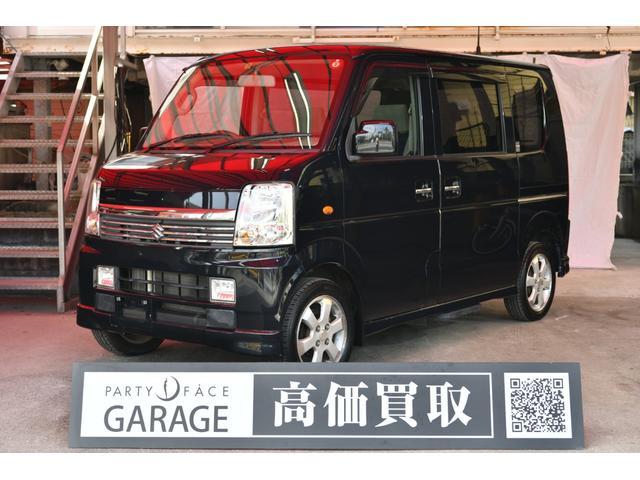 沖縄県那覇市の中古車ならエブリイワゴン PZターボスペシャル 両側パワースライドドア オートステップ CDチェンジャー