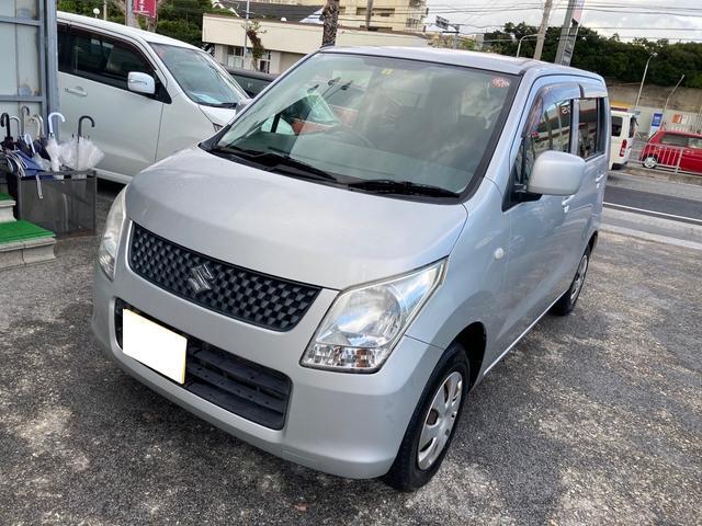 沖縄の中古車 スズキ ワゴンR 車両価格 15万円 リ済別 2011(平成23)年 15.4万km シルバーM