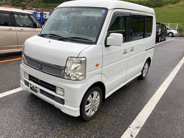 沖縄県那覇市の中古車ならエブリイワゴン PZターボスペシャル 両側パワースライドドア スライドドアオートステップ 社外オーディオ