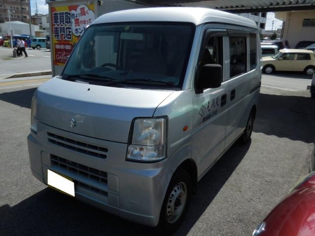 沖縄県沖縄市の中古車ならエブリイ PC ユーザー買取 現状販売 マニュアル車
