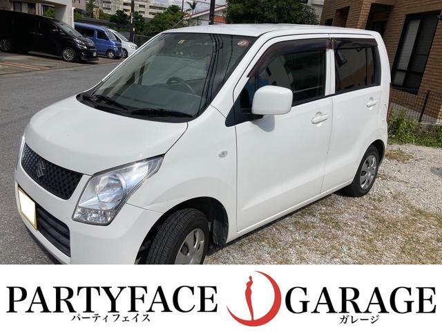 沖縄の中古車 スズキ ワゴンR 車両価格 23万円 リ済別 2012(平成24)年 12.6万km スペリアホワイト