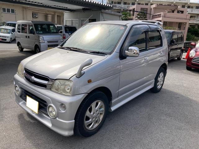 沖縄県の中古車ならテリオスキッド カスタム スターエディション ユーザー買取 現状販売車